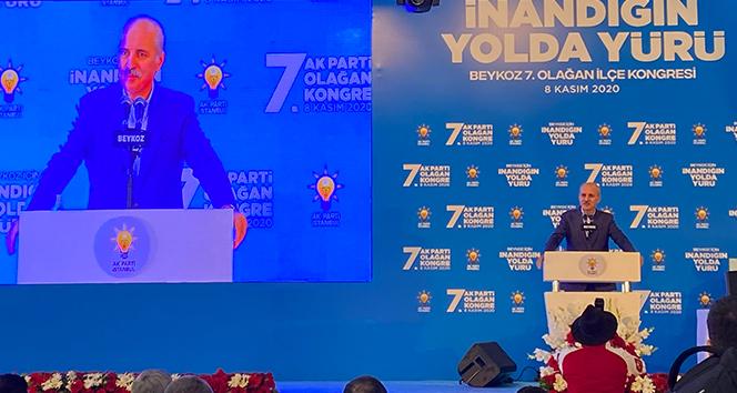 AK Parti Genel Başkanvekili Numan Kurtulmuş: 'Türkiye, önlenemeyen yükseliş dönemine girmiştir'