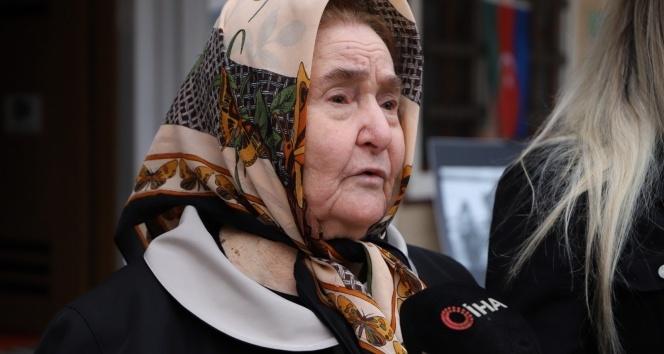 """Azerbaycan'ın milli kahramanı İskender Aznaurov'un annesi: """"Şehit oğlumun ruhu şad oldu"""""""