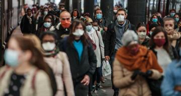 Fransa'da son 24 saatte 28 bin 383 yeni korona virüs vakası