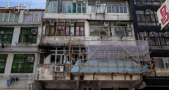 Hong Kong'da ev yangını: 7 ölü