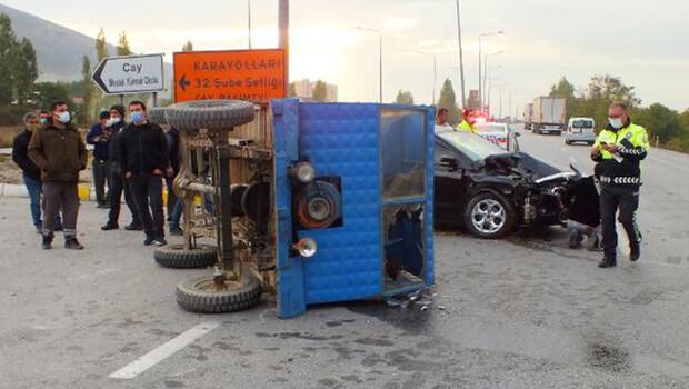Kazada yaralanan 'patpat' sürücüsü kurtarılamadı