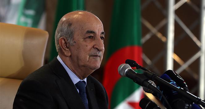 Cezayir Cumhurbaşkanı Tebboune'dan 47 sün sonra ilk açıklama