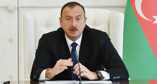 Cumhurbaşkanı Aliyev: 'ABD'nin Türkiye'ye yönelik yaptırım kararı kabul edilemez'