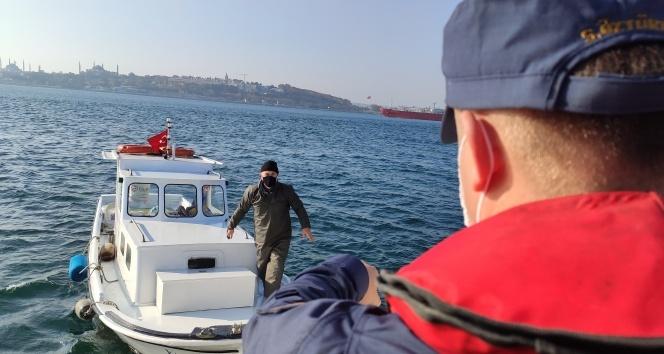 İstanbul Boğazı'nda kısıtlama denetimi