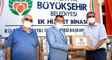 Büyükşehir Belediyesi'nden 19 milyon 296 bin liralık sosyal yardım