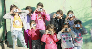 60 çocuk tarafından çekilen 100 fotoğraf, sanatseverlerle buluştu