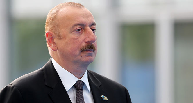 """Aliyev: """"Azerbaycan'ın askeri zaferini, bu siyasi zafere ulaşmada olağanüstü bir rol oynadı"""""""