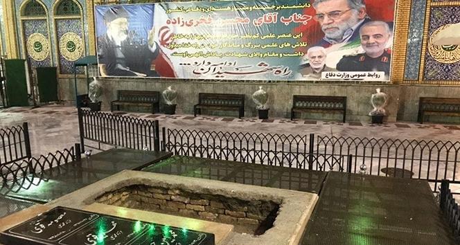İranlı nükleer fizikçinin Fahrizade'nin cenazesi Tahran'da defnedildi