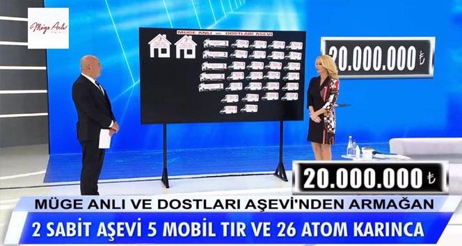 Müge Anlı'nın çağrısıyla 20 milyon lira bağış toplandı