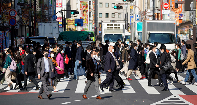 Tokyo'da Covid-19 vak'a rekoru