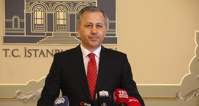 Vali Yerlikaya açıkladı: 20 milyon TL ceza kesildi