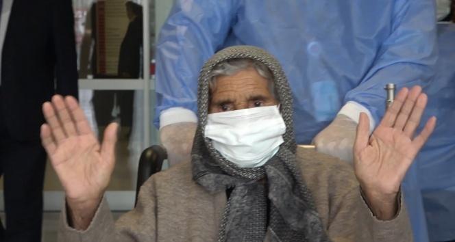113 yaşındaki Arzu nine korona virüsü yendi
