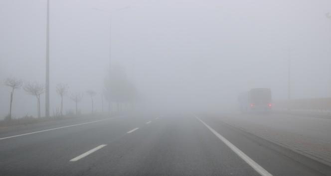 Diyarbakır'ı sis kapladı, uçak seferleri iptal edildi