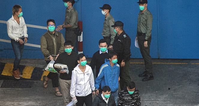 Hong Kong'da 3 demokrasi aktivistine hapis cezası