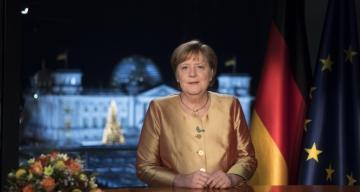 Merkel yeni yıl mesajında Uğur Şahin ve Özlem Türeci'den bahsetti