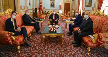 TBMM Başkanı Şentop, Almanya Büyükelçisi Schulz'u kabul etti