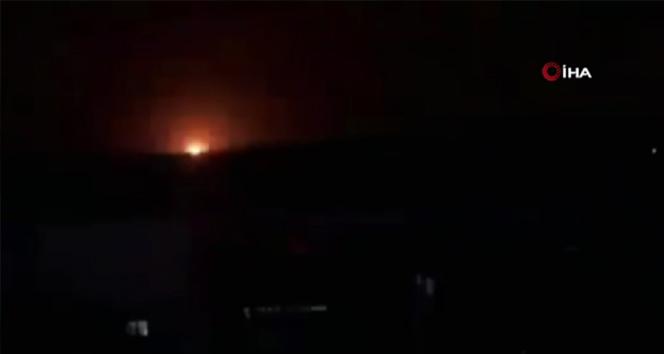 İsrail, Suriye'de en az 30 hava saldırısı düzenledi