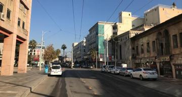 Şanlıurfa'da boş kalan cadde sokak ve meydanlar havadan görüntülendi